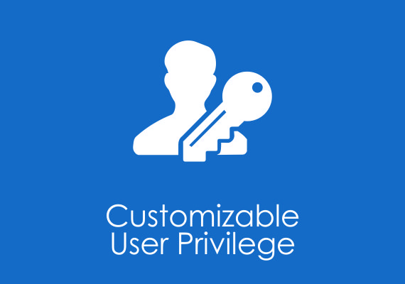 Customizable user privilage
