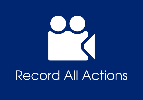 Record all actions